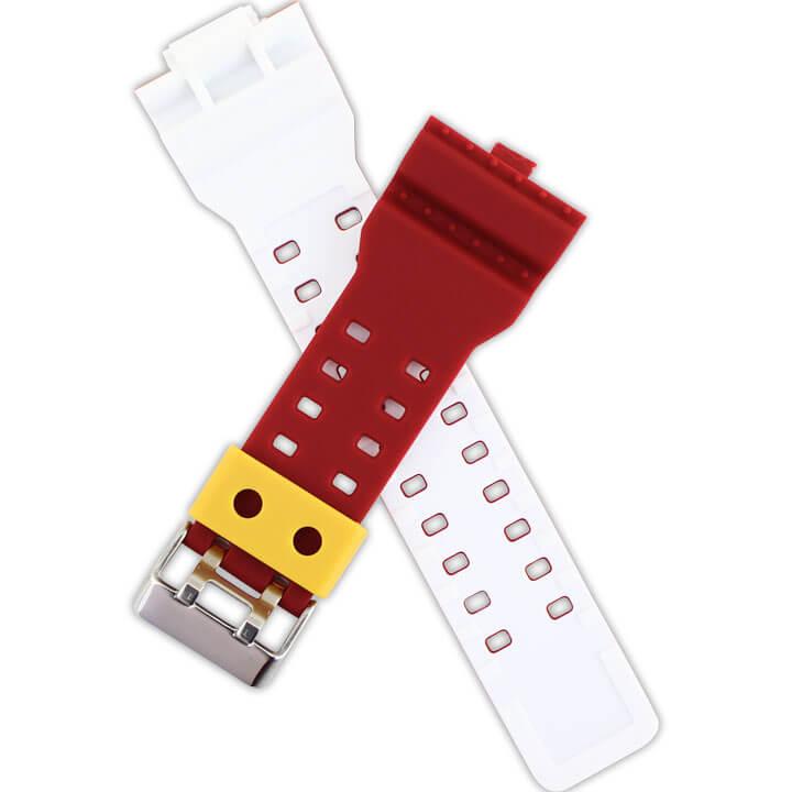 赤と黄と白の3色カラー