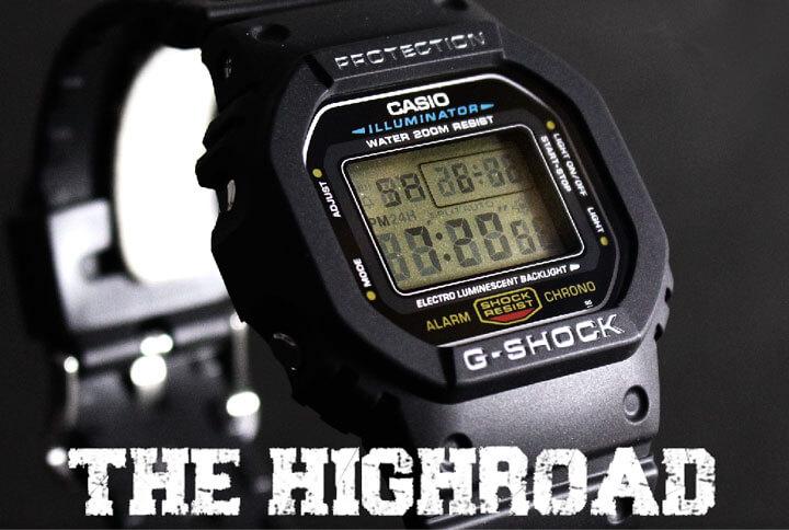 G-SHOCK DW-5600E-1V スピードモデル メイン画像