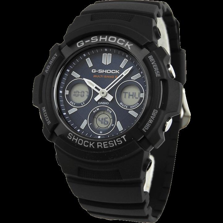 AWG-M100SB-2A ブラック(黒)×ネイビー(紺)