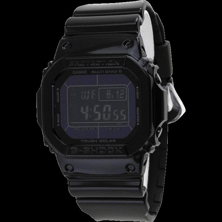 GW-M5610BB-1 ブラック(黒) 反転液晶と時計本体に光沢が施されモデル