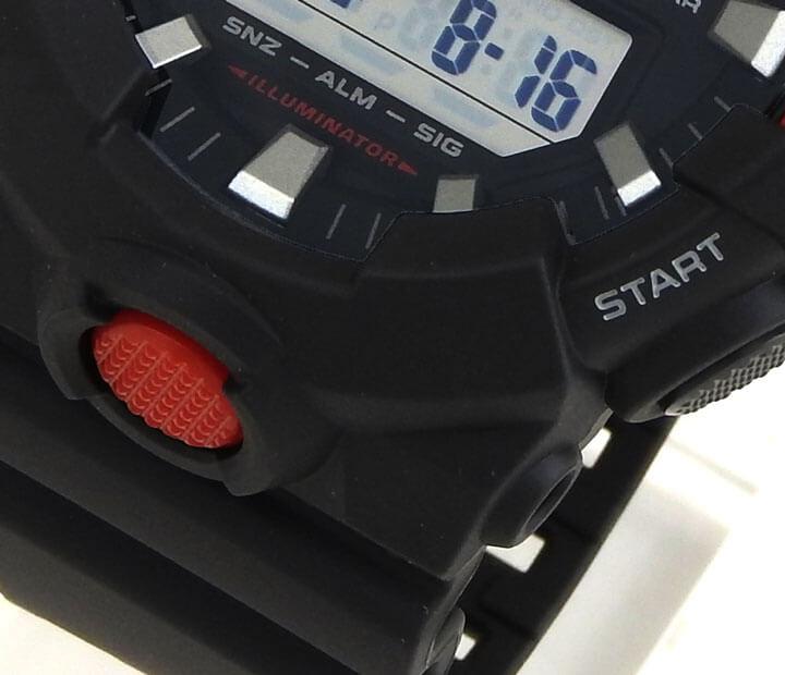 G-SHOCK 耐衝撃構造 ケース写真
