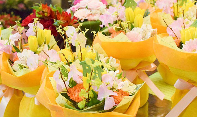 花束ブーケたち