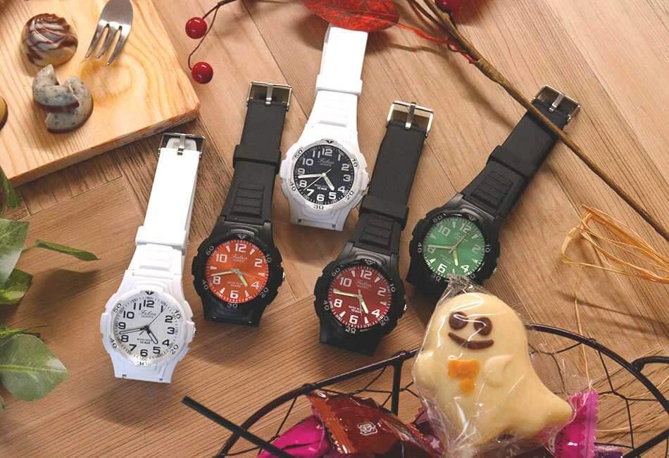 ど派手な腕時計でさりげなくハロウィンを楽しんじゃおう♪