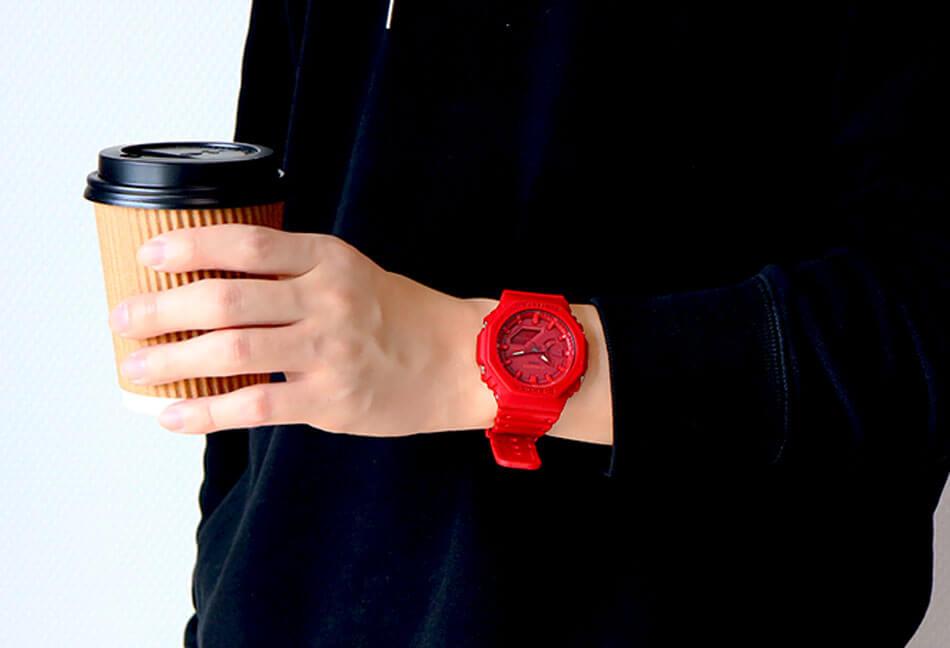 ウレタンモデルの腕時計