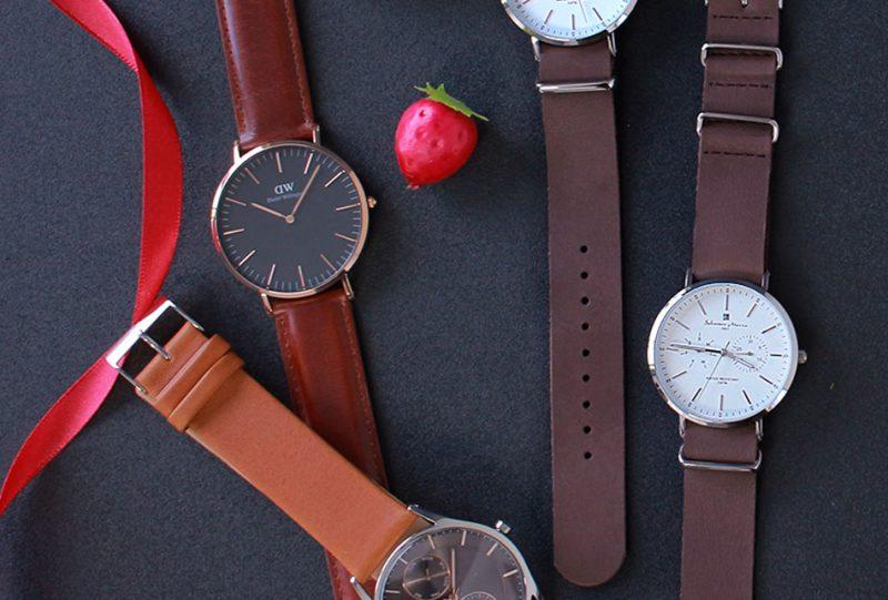 バレンタインイメージの腕時計