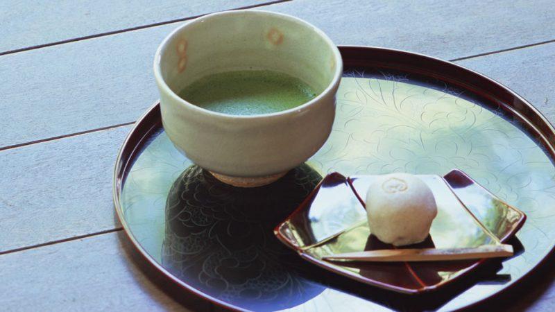 抹茶と和菓子SET